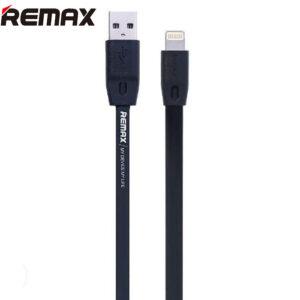 کابل شارژ سلیکونی ریمکس Remax Lightning Fast Charge Zinc Plated Cable | Rc-001i