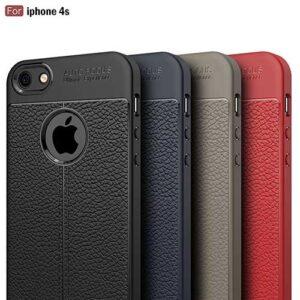 قاب طرح چرمی اتوفوکوس آیفون Auto Focus Texture Case | iphone 4S