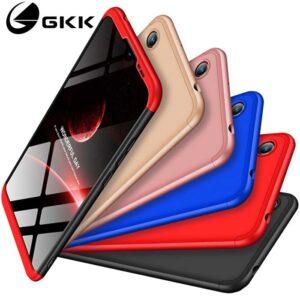 قاب محافظ 360 آنر Full Cover 3 in 1 Design Matte Gkk Case | Honor Play 8A