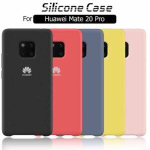 قاب سیلیکونی اوریجینال هواوی Silicone Soft Rubber Cover | Huawei Mate 20 Pro