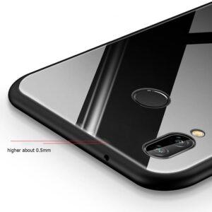 قاب پشت گلس آنر Luxury Tempered Glass Case Honor 10 Lite   P Smart 2019