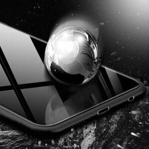 قاب محافظ پشت گلس آنر Luxury TPU Bamper + Tempered Glass Case   Honor 8X