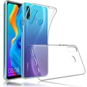 قاب شفاف پشت طلقی هواوی Crystal Shockproof Clear Case | Huawei P30 Lite