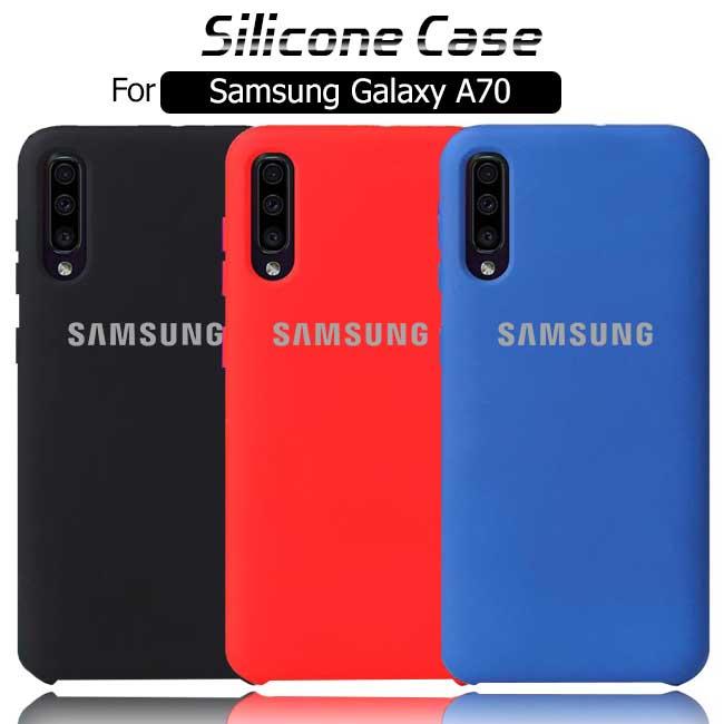 قاب سیلیکونی اصلی سامسونگ Silicone Soft Rubber Cover   Galaxy A70