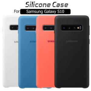 قاب محافظ سیلیکونی اوریجینال سامسونگ Silicone Rubber Case | Galaxy S10