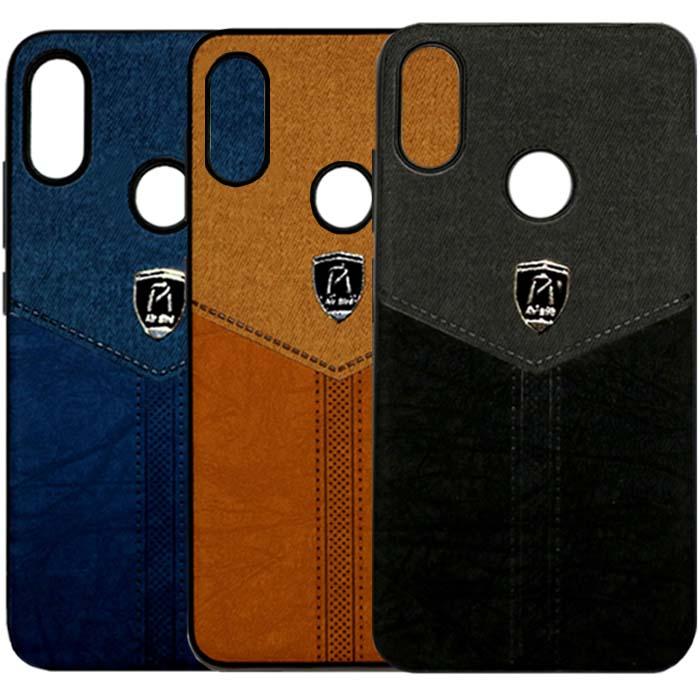 قاب طرح پارچه شیائومی Air Birds Cloth Pattern Business Cover | Xiaomi Redmi Y3