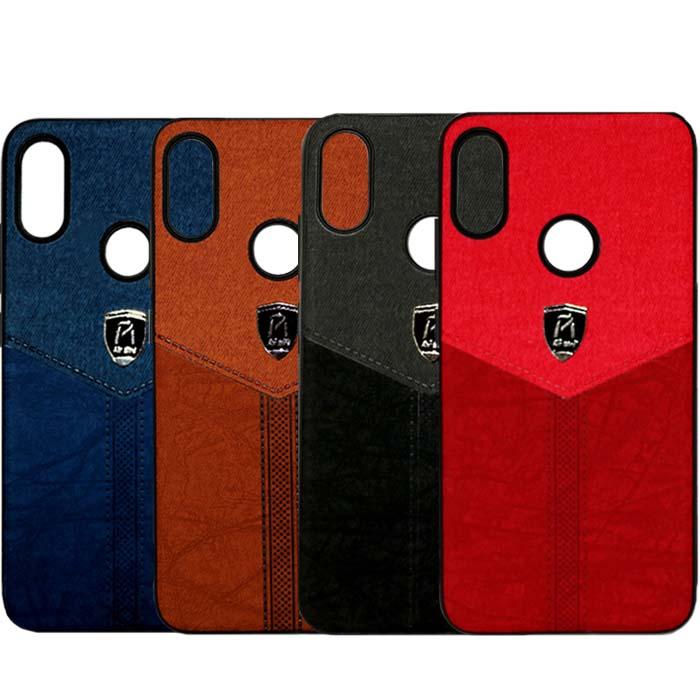 قاب طرح پارچه شیائومی Business Air Barids Cloth Pattern Case | Redmi Note 7