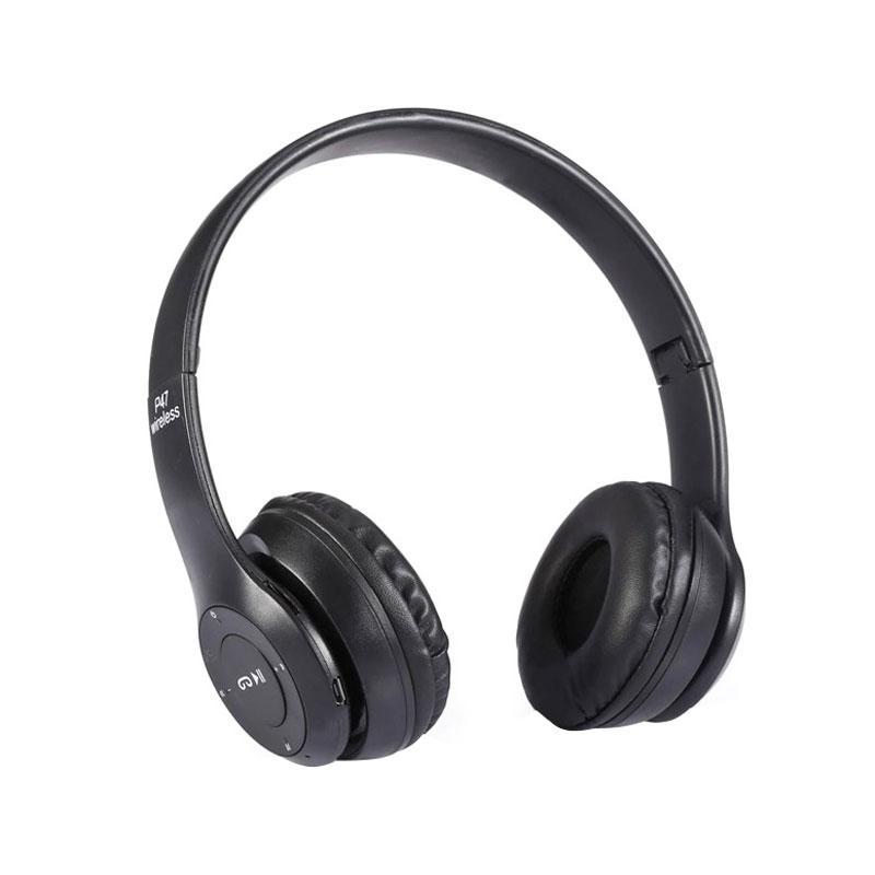 هدفون با سری قابل تنظیم Wireless Foldable Stereo HD Sound Headset | P47