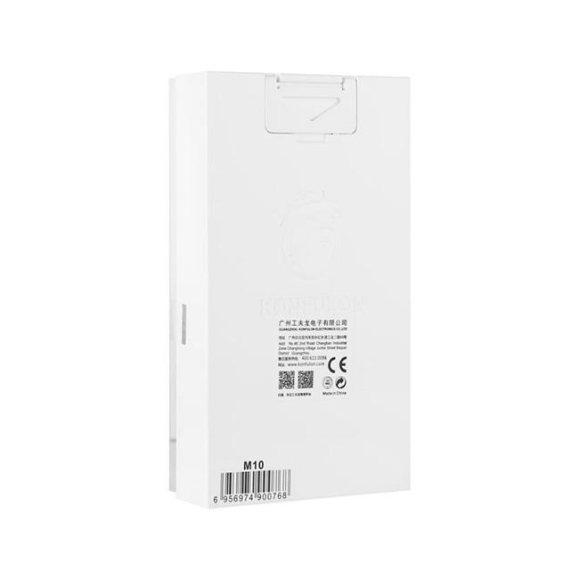 پاور بانک ضد حریق Konfulon 10000mAh With Flashlight Power Bank   M10