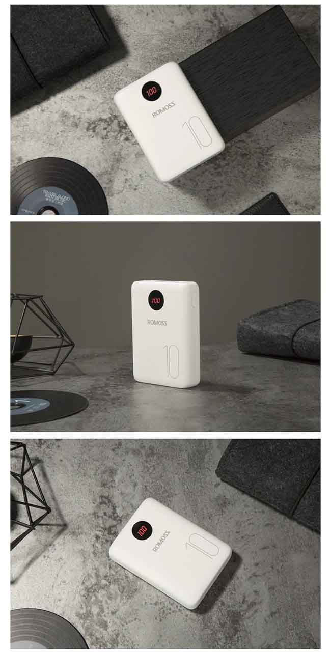 پاور بانک روموس Romoss 10000mAh 2 USB FitCharge Power Bank | OM10