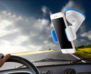 پایه نگهدارنده سیلیکونی موبایل Universal Silicon Sucker Car Holder