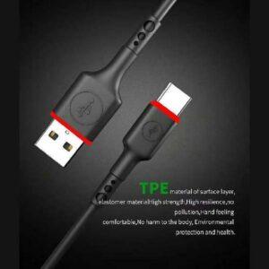 کابل شارژ لایتنینگ آککیو Akekio Stable Transition & Quick Charge Nickel Plated Cable