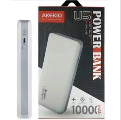 پاور بانک ایمن آککیو Akekio Dual USB 10000mAh Power Bank   U5
