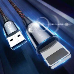 کابل هوشمند لایتنینگ بیسوس Baseus Smart Power Off Lightning Cable   CALCD-01
