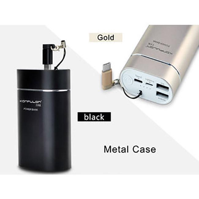 پاور بانک فلزی کانفلون Konfulon Metal Case 10000mAh Powe Bank   A10
