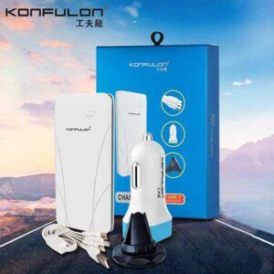 پاور بانک کانفلون Konfulon Power Bank With Cable & Car Charger & Holder 1000mAh   TY-Edge ii