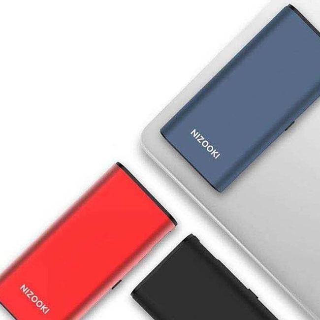 پاوربانک هوشمند نیزوکی Nizooki 16500mAh Dual Input Power Bank   K16
