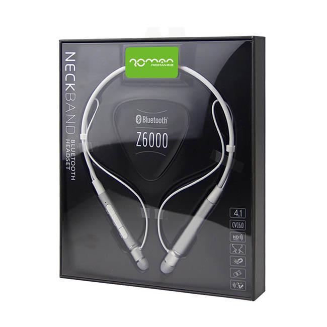 هندزفری بلوتوث رومن Roman Sport Wireless Neckband Handsfree | Z6000