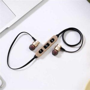هندزفری بلوتوث گردنی Wireless Neckband Sport Magnetic Earphone | ST-009