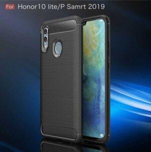 قاب فیبر کربن آنر Rugged Armor Brushed Case Honor 10 Lite | P Smart 2019