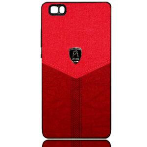 قاب محافظ طرح پارچه هواوی Cloth Pattern Air Birds Case   Huawei P8 Lite