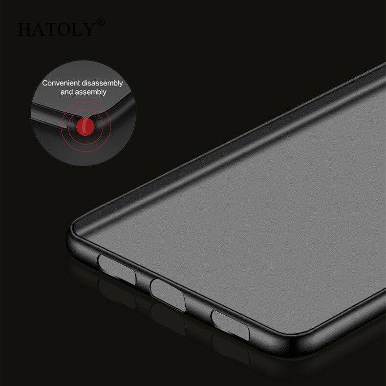 قاب ژله ای هواوی Anti-Slip Matte Surface TPU Case Y7 prime | Enjoy 7 Plus