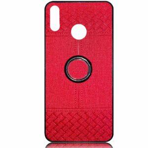 قاب طرح پارچه هواوی Cloth Pattern Finger-Ring Cover Y7 Prime 2019   Y7 2019