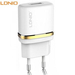شارژر دیواری تک پورت الدینیو LDNIO 1 USB Travel Charger Adapter | DL-AC50