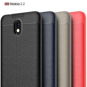 قاب طرح چرم اتو فوکوس نوکیا Auto Focus Flexible Case | Nokia 2.2