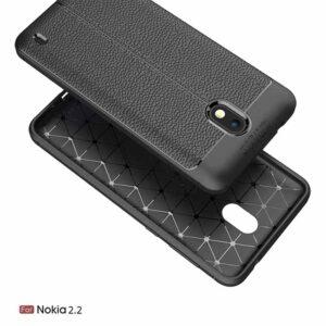 قاب طرح چرم اتو فوکوس نوکیا Auto Focus Flexible Case   Nokia 2.2