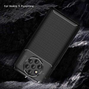 قاب فیبر کربن نوکیا Anti-FingerPrint Beetle Series Case | Nokia 9 PureView