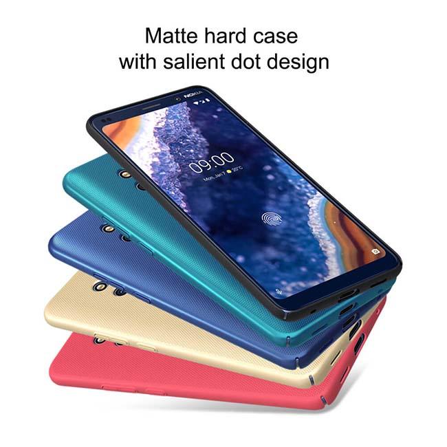قاب نیلکین گوشی نوکیا Super Frosted Shield Nillkin Case   Nokia 9 PureView