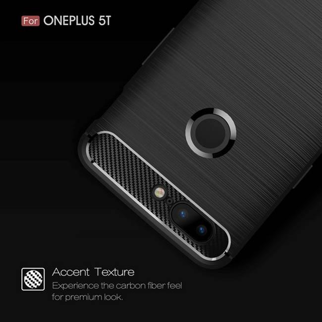 قاب فیبر کربن وان پلاس Rugged Armor Carbon Fiber Case   OnePlus 5T