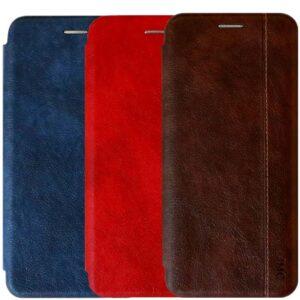 کیف چرمی 360 درجه سامسونگ Leather Wallet Cover | Galaxy A40
