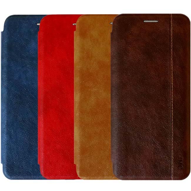 کیف محافظ چرمی سامسونگ Magnetic Prestige Wallet Flip Cover | Galaxy A70