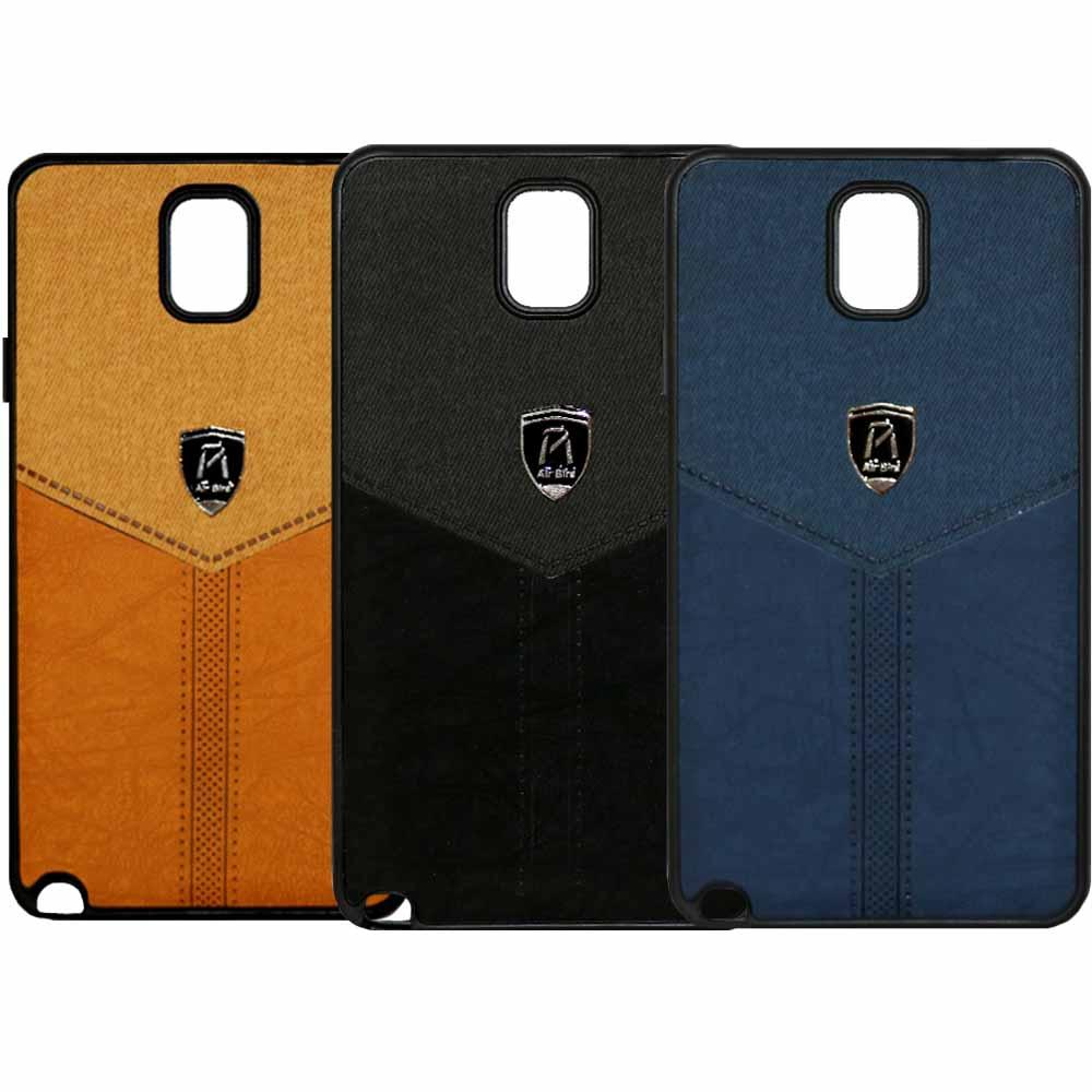 قاب طرح پارچه سامسونگ Soft Cloth Pattern Air Birds Case | Galaxy Note 3