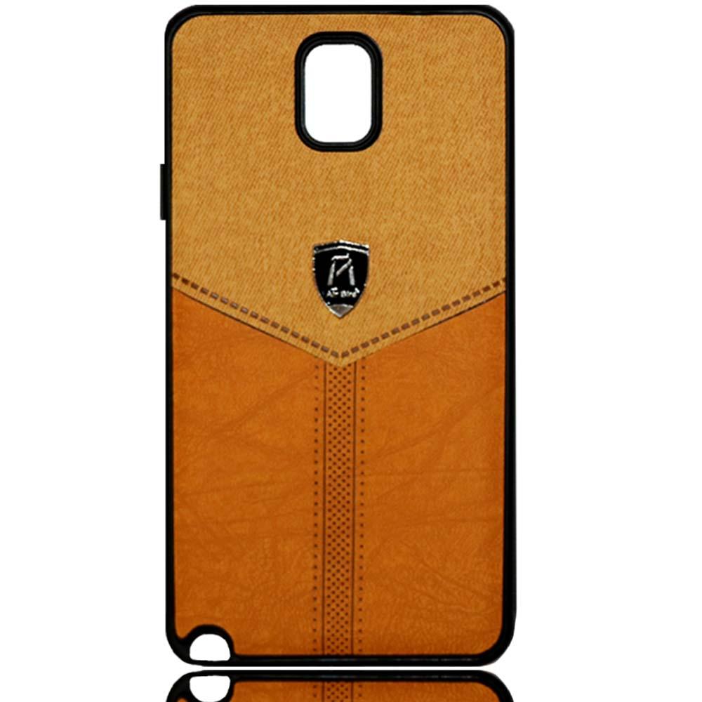 قاب طرح پارچه سامسونگ Soft Cloth Pattern Air Birds Case   Galaxy Note 3