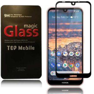 محافظ نمایشگر پوشش منحنی نوکیا Magic 9D Full Coverage Glass | Nokia 3.2