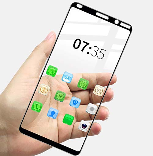 محافظ نمایشگر پوشش منحنی نوکیا Magic 9D Full Glass | Nokia 9 PureView