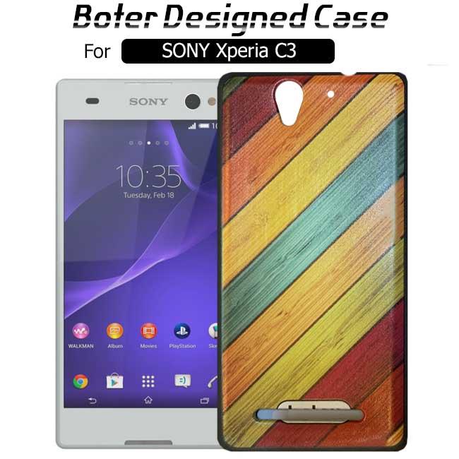 قاب طرح دار سونی اکسپریا Boter Colorful Designed Case | SONY C3