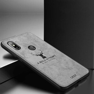 قاب گوزنی شیائومی Cloth Pattern Christmas Deer Case Xiaomi Mi 6X | Mi A2