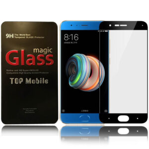 محافظ نمایشگر پوشش کامل شیائومی Magic Full Cover 9D Glass | Xiaomi Mi Note 3