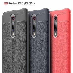 قاب طرح چرمی شیائومی Auto Focus Texture Case Xiaomi Redmi K20 | Redmi K20 Pro