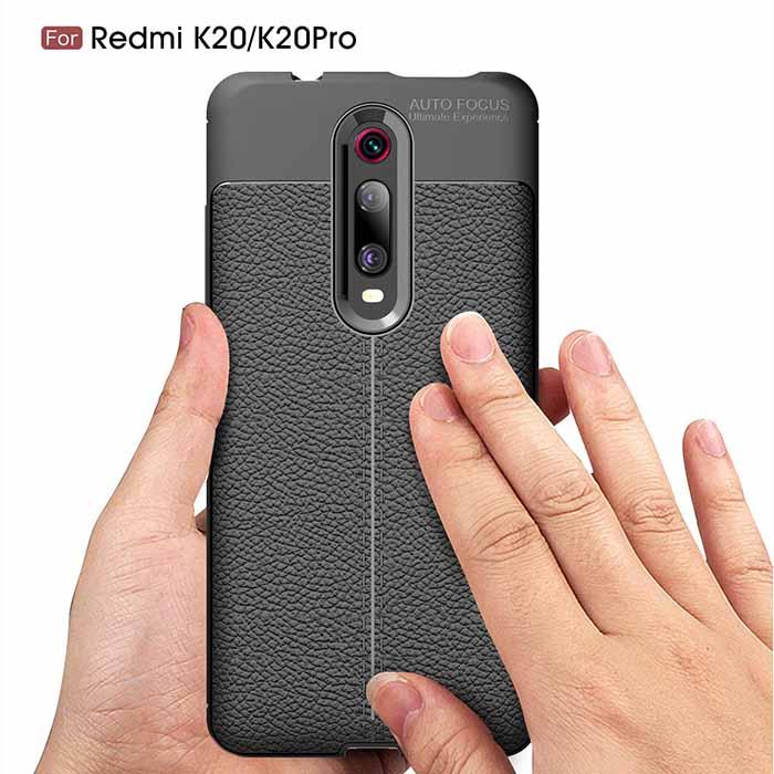 قاب طرح چرمی شیائومی Auto Focus Texture Case Xiaomi Redmi K20   Redmi K20 Pro