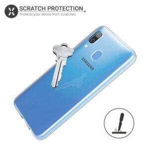 قاب پشت طلقی سامسونگ Ultra-Thin Clear Case Galaxy A30   Galaxy A20
