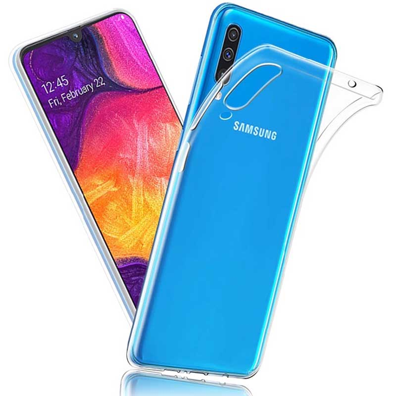 قاب پشت طلقی سامسونگ Crystal Shockproof Clear Case | Galaxy A50
