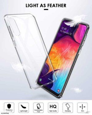 قاب پشت طلقی سامسونگ Crystal Shockproof Clear Case   Galaxy A50