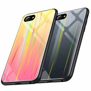 قاب هفت رنگ لیزری آیفون Baseus Glossy Laser Aurora Case iphone 6 | 6s