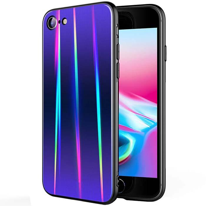 قاب لیزری براق آیفون Baseus Laser Aurora Gradient Color Case iphone 7 | 8