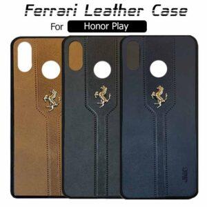 قاب محافظ چرم فراری آنر Ferrari Soft Leather Case | Honor Play